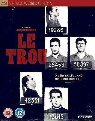 LE TROU di Jacques Becker BLURAY in Francese NEW .cp