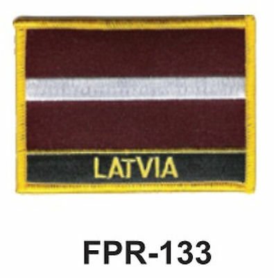 """2-1//2/'/' X 3-1//2/"""" INDONESIA Flag Embroidered Patch"""