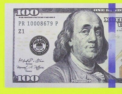 $100 PROP MONEY Movie Fake Money $10,000 STACK 2-SIDED AMAZING & HIGH QUALITY