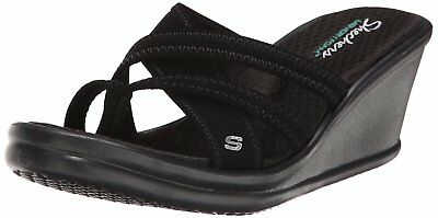 SKECHERS USA WOMEN'S Rumblers Young At Heart Wedge Sandal
