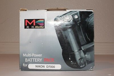 Meike D7000 Professional Vertical Battery Grip for Nikon D7000 EN-EL15 MB-D11
