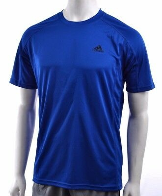 Adidas Climalite Mens Polyester Crew Moisture-Wicking Performance T-Shirt 2XL