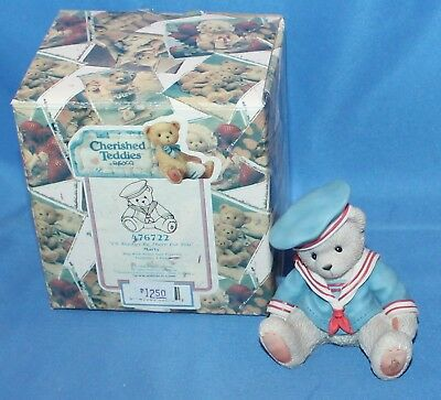 Cherished Teddies Marty I'll Always Be There For You # 476722 1998 Enesco
