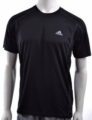 Adidas Climalite Mens Polyester Crew Moisture-Wicking Performance T-Shirt XL