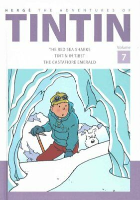 The Adventures of Tintin Volume 7 by Herge 9781405282819 (Hardback, 2015)