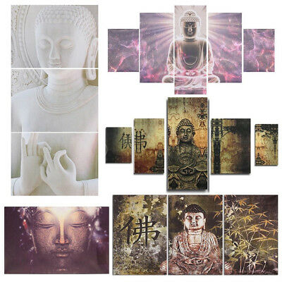 7 Type Modern Buddha Canvas Print Painting Picture Art Hanging Wall Home Decor