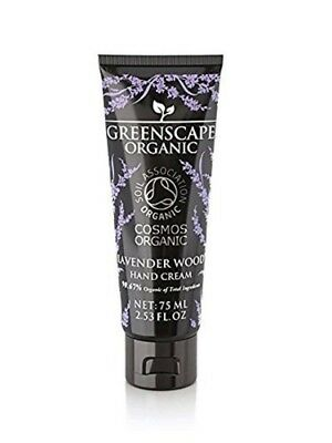 Greenscape Organic Hand Cream Lavender Wood 75 ml Enriched With Different Oils