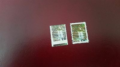 Ghana 1991 Sg 1640 Miss Placed Perf And Black Colour  Miss Placed Perf Mnh