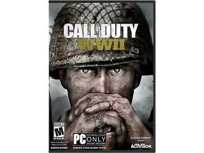 Call of Duty: WWII - PC (Physical Key Code - No Disc)