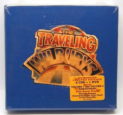 The Traveling Wilburys Collection [Limited] NEW 2-CD/1-DVD Box Set (2007, Rhino)