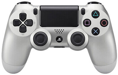 PS4 Playstation 4 Sony Controller Dualshock 4 Silver Limited Edition