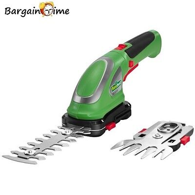 FLORABEST - Cordless Electric Hedge Trimmer Shurb Topiary Lawn Edge Grass Shears