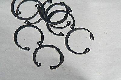 "2 Pieces Your Choice  1""  Thru  2""  Internal Retaining Rings Steel"