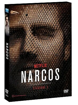 Narcos - Stagione 02 (Special Edition O-Card) (4 Dvd) EAGLE PICTURES