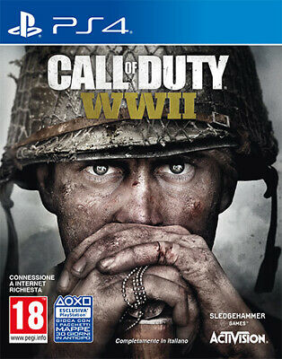 Call Of Duty World War 2 WWII PS4 Playstation 4 ACTIVISION BLIZZARD