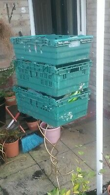 5 x bale arm crates (wakefield)