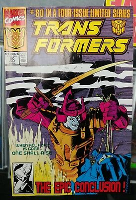 TRANSFORMERS #80 (Marvel Comics, 1991) ~ Final Issue