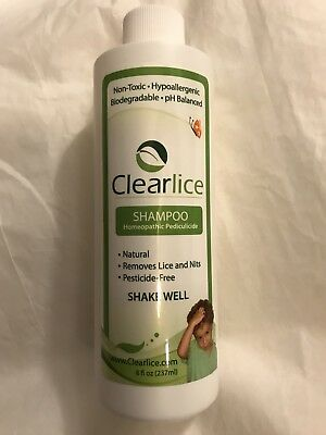 ClearLice Natural Lice Treatment Shampoo