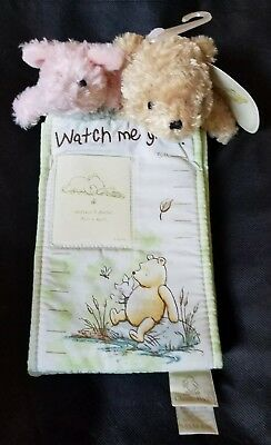 NWT Disney Classic Winnie Pooh Watch Me Grow Milestone Marker up to 5Ft&Pictures