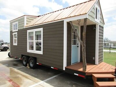 8 x 24 Tiny House loaded and ready totally finished all appliances