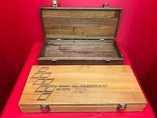 Hp Agilent 85050A(Case Only) Empty Wooden Box For Calibration Kit