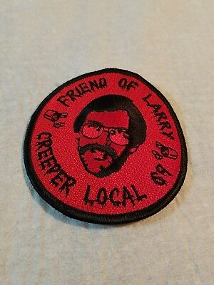 Patch Vintage FRIEND OF LARRY CREEPER LOCAL 69