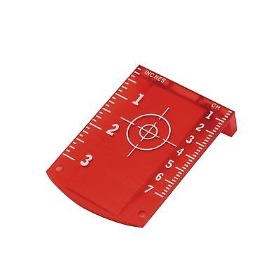 Firecore Target Card Plate for Red Laser Level