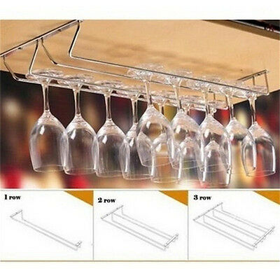 NEW Wine Glass Rack Cabinet Stand Home Dining Bar Tool Shelf Holder Hanger M&C