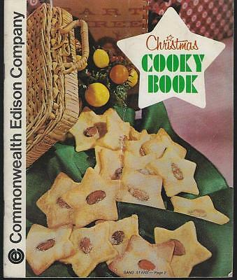 Commonwealth Edison Christmas Cooky Book 1971 Illustrated Cook Book
