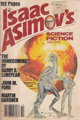 Isaac AsimovS Science Fiction Magazine October ... - Acceptable - Paperback