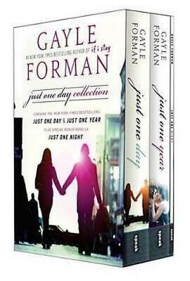 NEW Just One Day Collection By Gayle Forman Paperback Free Shipping