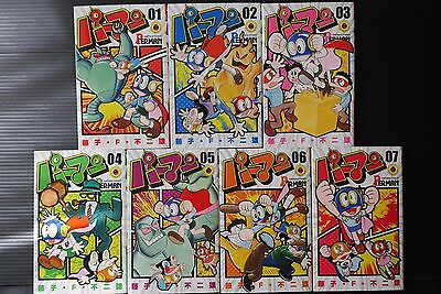 JAPAN Fujiko F Fujio manga: Perman -New Edition- vol.1~7 Complete Set