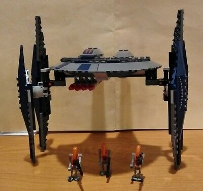 Lego Star Wars 8016 Hyena Droid Bomber Instructions Only 1000