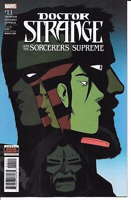 Marvel Comics DOCTOR STRANGE AND THE SORCERERS SUPREME #11 first printing