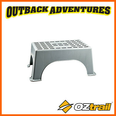 OZtrail PORTABLE FIXED STEP - POLYPROPYLENE CONSTRUCTION - 150 KG WEIGHT RATED