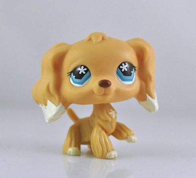 Littlest Pet Dog Spaniel Animal child girl boy figure loose cute LPS990