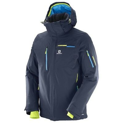 Salomon Brilliant JKT M Herren Skijacke Art. 397301 Night Sky Gr. S - 2XL NEU