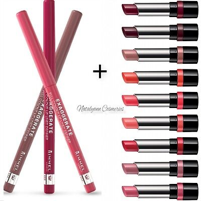 Rimmel The Only 1 Lipstick  + Matching LIP LINER + choose shade  + FREE UK  POST