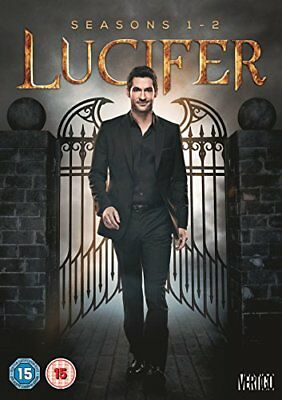 LUCIFER Stagioni 1-2 Serie Complete BOX DVD in Inglese NEW .cp