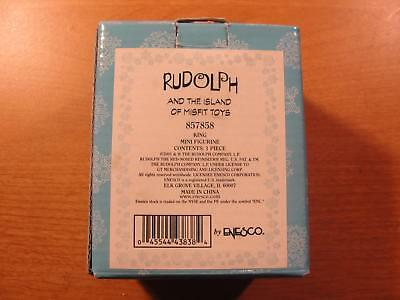 Enesco 2001 #857858 King Rudolph And The Island Of Misfit Toys