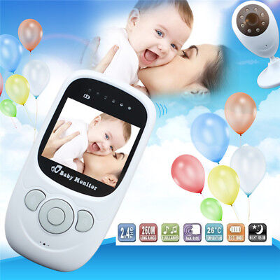 New Digital Audio Video Baby Monitor Wireless Camera Remote Motion Night Vision