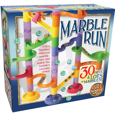 30 PIECE MARBLE RUN inc marbles  -  boxed ready to wrap