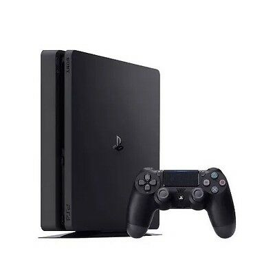 Sony PlayStation 4 Slim 500GB Matte Black PS4 CUH-2015A System. With Controller.