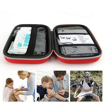 2 Colors Emergency Medical Empty Bag First Aid Pack SurvivalOutdoor Rescue Kit.