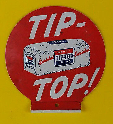 Tip Top Bread Advertising Celluloid Badge