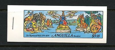 Anguilla 1979  #354B   stamps on stamps Rowland Hill COMPLETE BOOKLET  MNH  L255