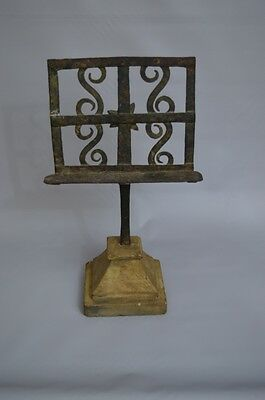 19th Century Iron Table Lectern