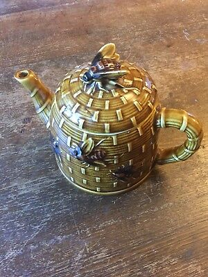 Vintage Honey Bee Teapot And Butter Dish
