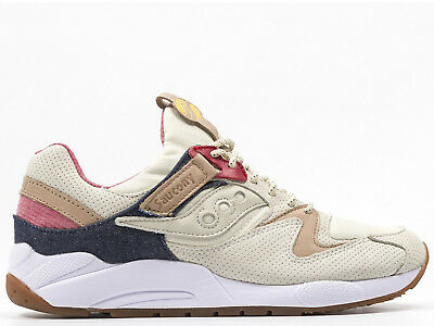 2017 Women Men Saucony Grid 9000 NavyLight Grey 70077