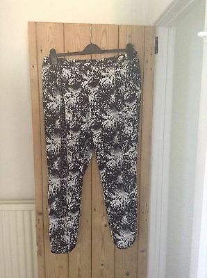Womens Lightweight Trousers Black And White Atmosphere 16 Summer